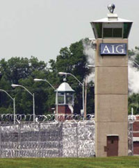 AIG California State Prison, located just outside of Los Angeles.