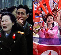 Foreign policy experts think that the people of North Korea may be either happy or sad.