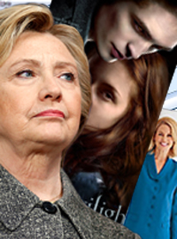 An FBI probe in to Hillary Clinton's email has uncovered a large amount of Twilight fan fiction and pantsuit catalogs.